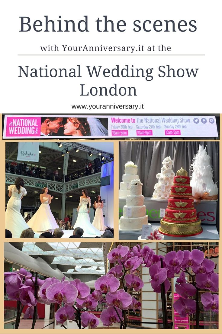 Find your wedding theme and inspiration at the national wedding show! We love planning weddings - contact us to plan yours!