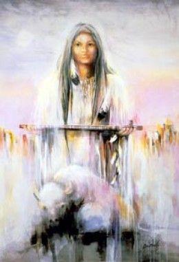White Buffalo Woman - Prophetess