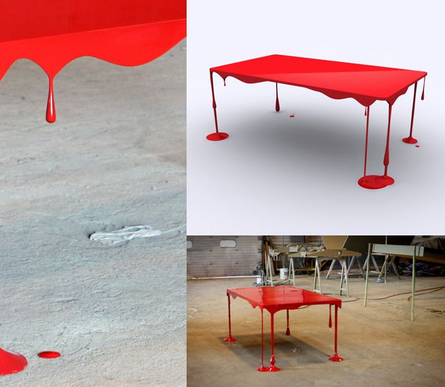 Bloody Table, by John Nouanesing