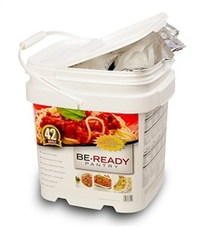 14 Day Portable Food Pantry Delivers 42 Delicious Meals.