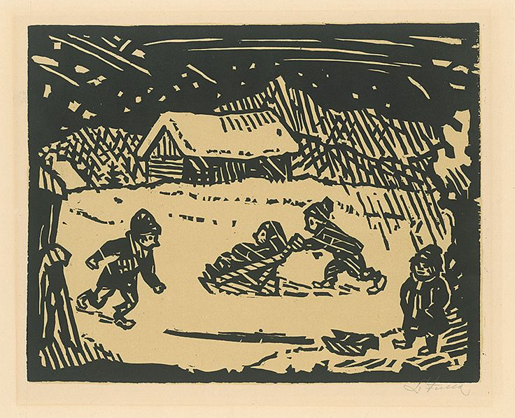 Ľudovít Fulla - Zima 1946)
