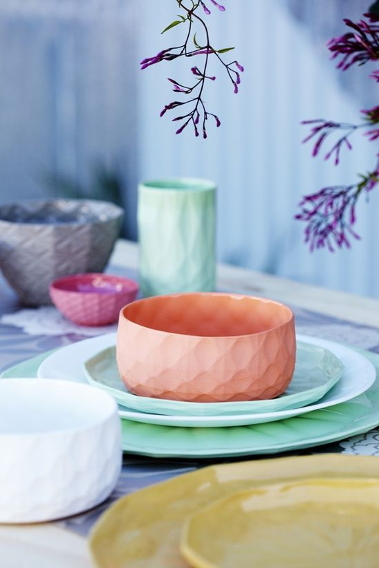 COLORFUL TABLEWARE FROM THE MOD COLLECTIVE   THE STYLE FILES