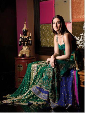 Kareena Modelling For Manish Malhotra