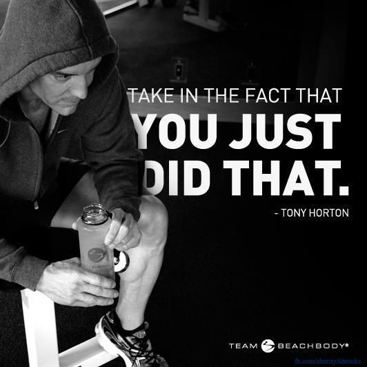 Love this. It sums up how I feel every time I get done working out. P90x is so rewarding!!!