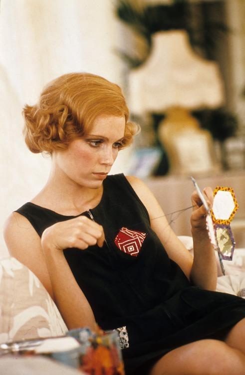 "Mia Farrow in ""The Great Gatsby"""