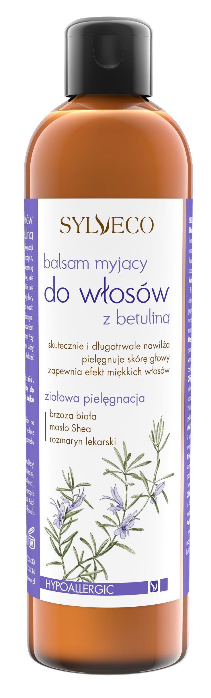Sylveco Balsam myjący do włosów z betuliną