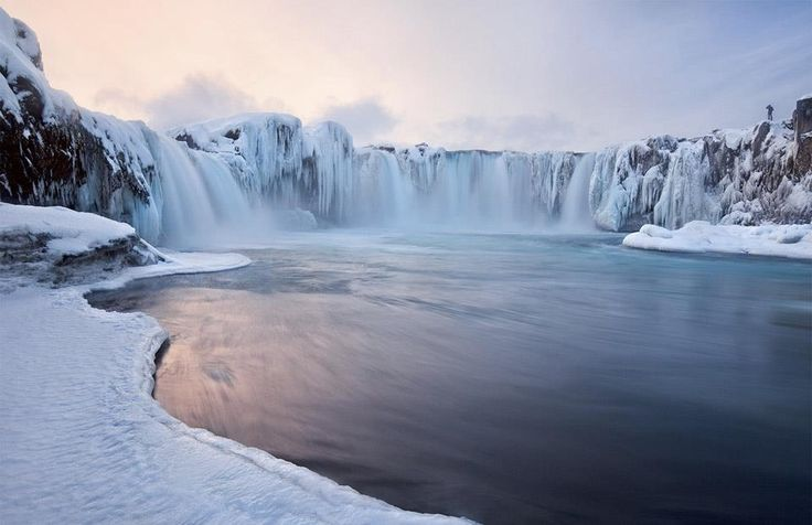 Photo of Godafoss Falls in Iceland by Valeriy Shcherbina