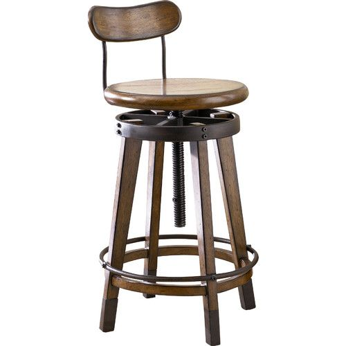 Found it at AllModern - Studio Home Adjustable Height Swivel Bar Stool