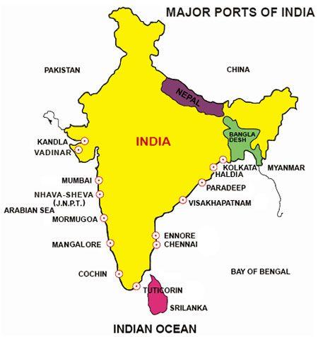 major sea ports