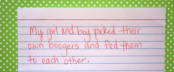 Moms Confess 20 More F'ed Up Things Their Kids Have Done