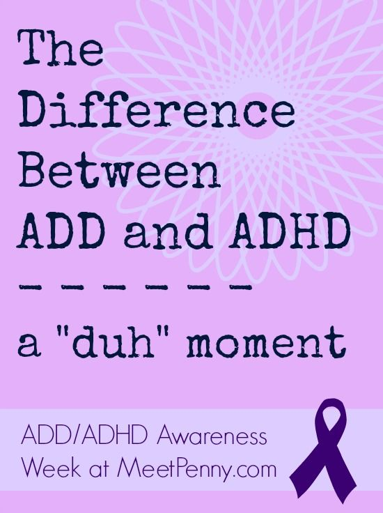 an introduction to the attention deficit disorder or add Attention-deficit hyperactivity disorder (adhd) is a mental disorder of the  neurodevelopmental type it is characterized by problems paying attention,  excessive.
