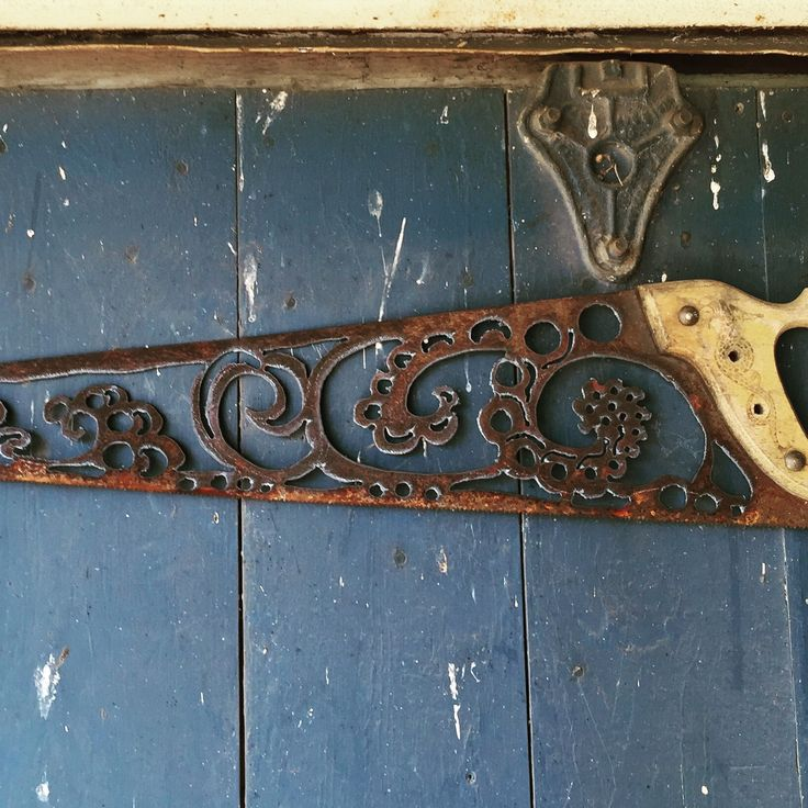 Saw Blade Hand Cut With Plasma Metal Projects
