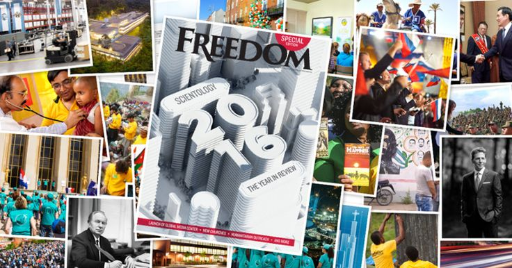 "The NEW issue of FREEDOM MAGAZINE is ONLINE! *SPECIAL EDITION*    Scientology The Year in Review    The Founder of Scientology, L. Ron Hubbard, was part of the generation whose crucibles were World War II and the advent of nuclear weapons that could vaporize civilization. The stakes were so high, victory was either a win or a loss—there were no draws or rematches. Another great man of that era, England's Winston Churchill, commented that ""without victory, there is no survival.""    Mr…"
