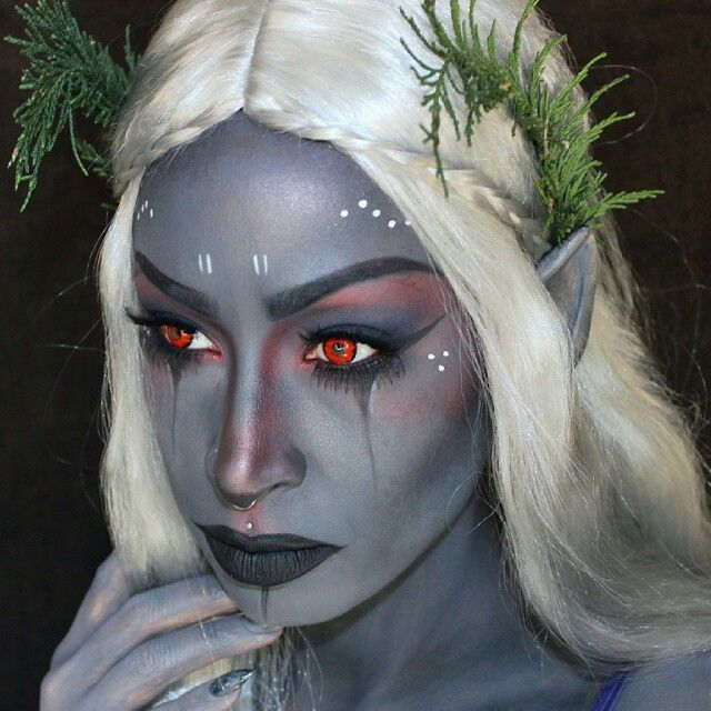 This elf makeup is SO awesome