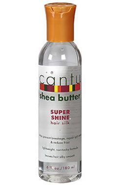 AOneBeauty.com - Cantu Shea Butter Super Shine Hair Silk (6oz), $9.97 (http://www.aonebeauty.com/cantu-shea-butter-super-shine-hair-silk-6oz/)