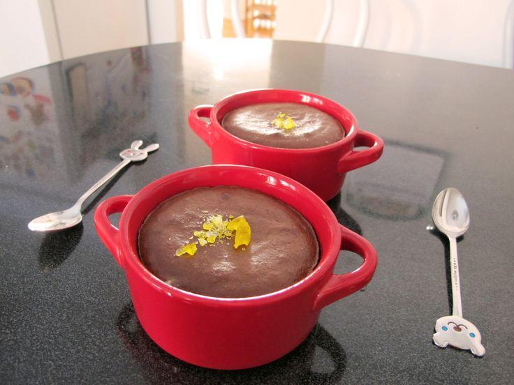 Chocolate Lava Cake in Mini Cocotte