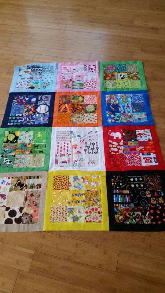 Perfect I Spy Quilt By Barbie Woodland