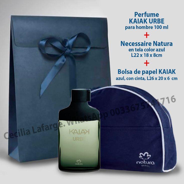 Pack Kaiak Masculino = 44€ - Perfume Kaiak a escoger : Clásico, Intenso o Urbe,100ml c/u - Necessaire azul Natura  - Bolsa papel azul Pedidos : Whatsapp 0033675741716 cecilia.naturaeuropa@gmail.com #naturakaiak #naturaventas #perfume #eaudetoilette #naturaeuropa #naturafrancia #naturabrasil #consultoranatura #packkaiak #regalohombre #regalo #regalopapa #regaloel #ventasnatura #perfumecuerpo #cuerpo #perfumemasculino #perfumedehombre