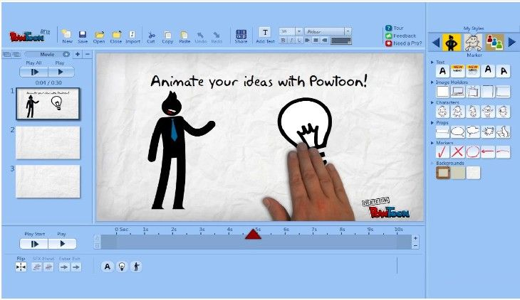 Powtoon-para-crear-videos-animados-educativos-en-google-drive   Tambien en http://www.nerdilandia.com/powtoon-para-crear-videos-animados-educativos-en-google-drive/        Tutorial  https://www.youtube.com/watch?v=LTpOpv6sS5o