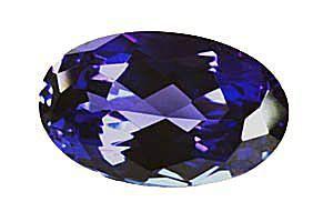 Tanzanite è zoisite blu-viola di qualità della gemma.