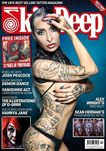 Skin Deep Tattoo Magazine. Skin Deep has long been the UKs best selling tattoo magazine - and just because we're having fun for 13 issues a year (that's once every 4 weeks) doesn't mean we're not taking it very seriously indeed. Each issue we publish profiles, interviews and features with the leading tattooists and tattoo artists working in the world today together with exciting new talent. Alongside of this, we focus on the tattoo lifestyle and all it contains, coverage from the...