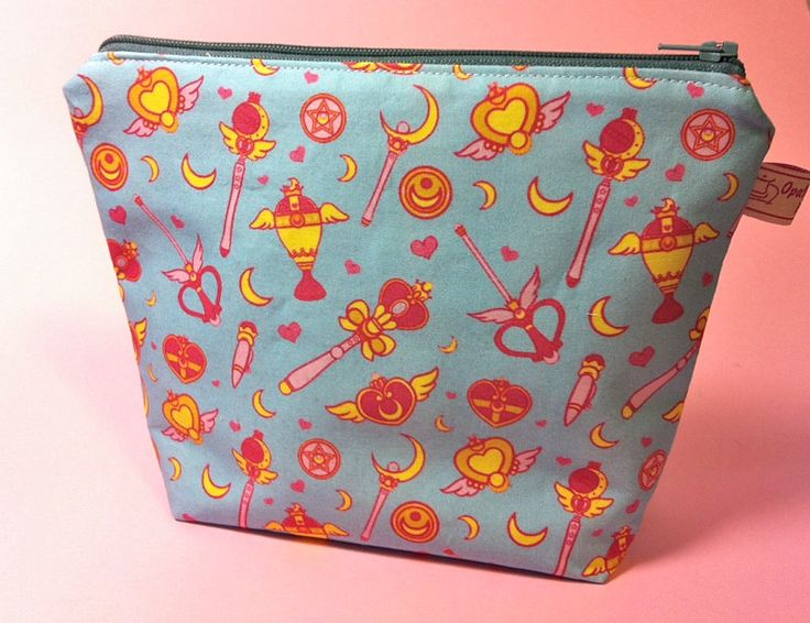 Trousse porta trucchi di Sailor Moon di OpalyneCreations su Etsy