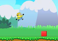 JuegosdeMinion.com - Juego: Minion Jump Adventure - Jugar Juegos Gratis Online Flash