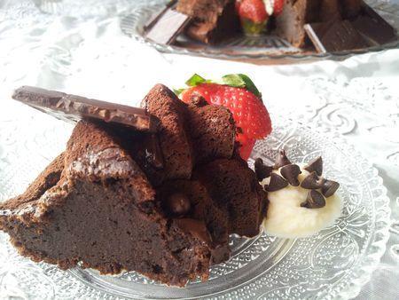Gateau chocolat creme sure ricardo