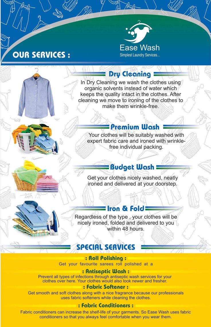Go for Premium Wash at Ease Wash with your clothes