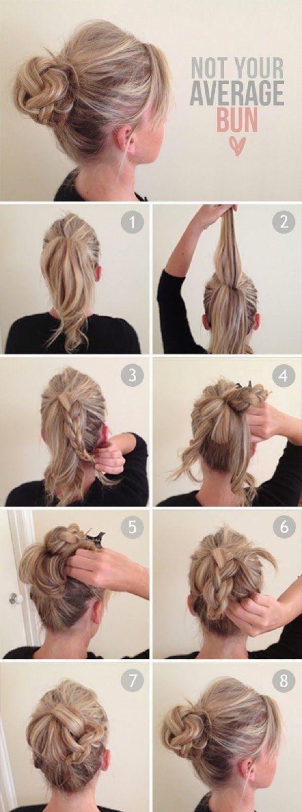 TÔ DE MI: Penteados Fáceis: Tranças