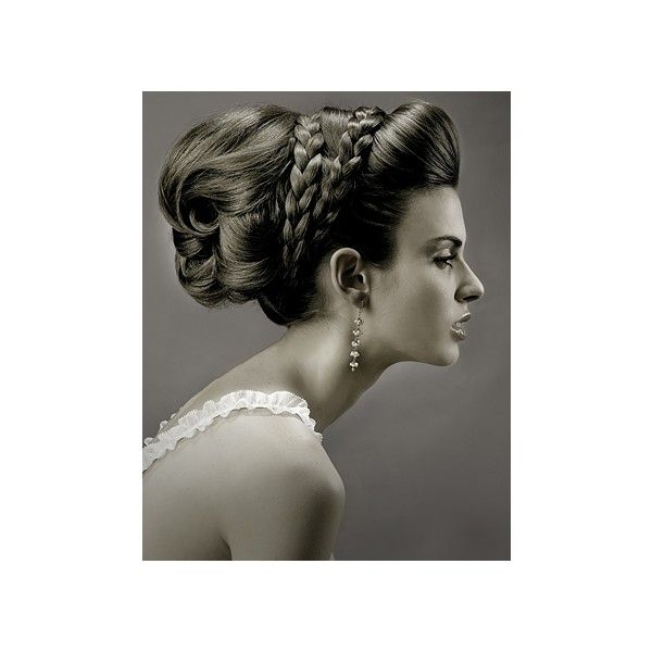 Grecian Goddess Wedding Updo Hair Found On Polyvore