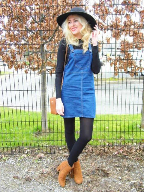 Today's look is featuring one of my favourite trends – the pinafore dress! I'm absolutely loving pinafores at the moment and simply couldn't resist adding this denim version from New Look to my wardrobe! It's so gorgeous, comfortable to wear and ever so easy to style! See more of this look here - www.elsfashionfix.co.uk/2016/04/05/the-denim-pinafore-2/