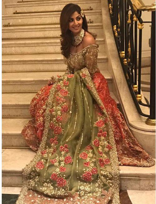 Shilpa Shetty In A Beautiful Lehenga