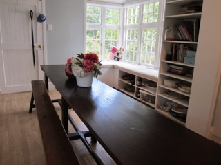 Another view of the table - I think it really brought the whole kitchen to life.
