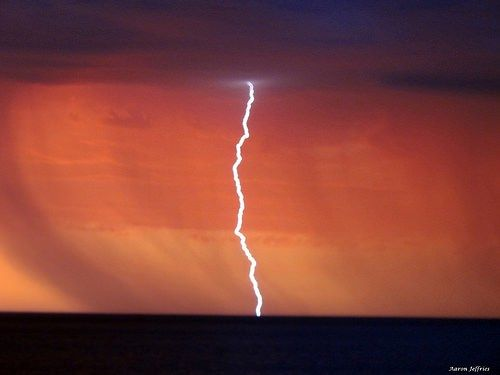 Lightning Bass Strait by Aaron206  Claircognizance