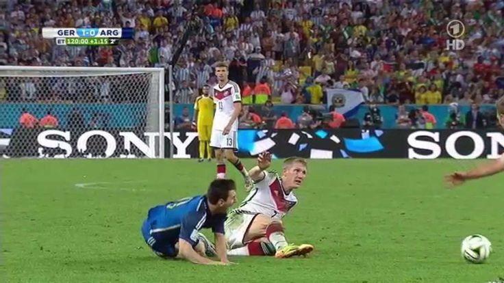 WM Finale 2014- die letzten 15 Minuten
