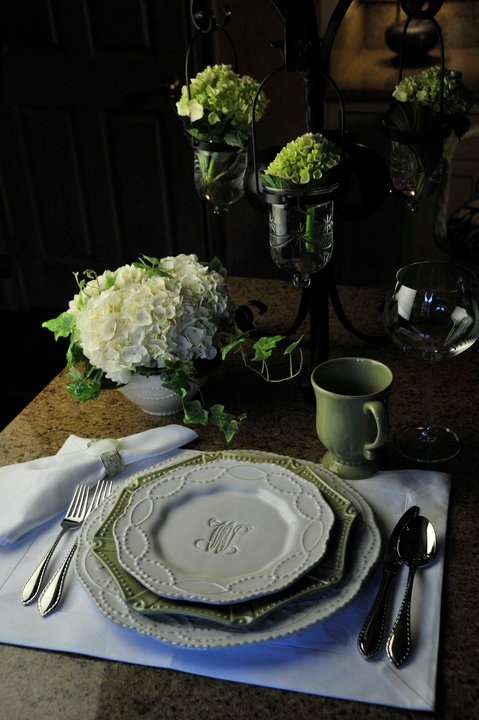 Skyros Design tableware from Portugal is my favorite. It's beautiful and imported by a friend in Memphis.