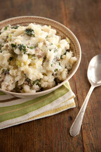 Paula Deen Colcannon (Irish Potato Salad) Believe it or not, these ingredients are GF! :0) Yay!