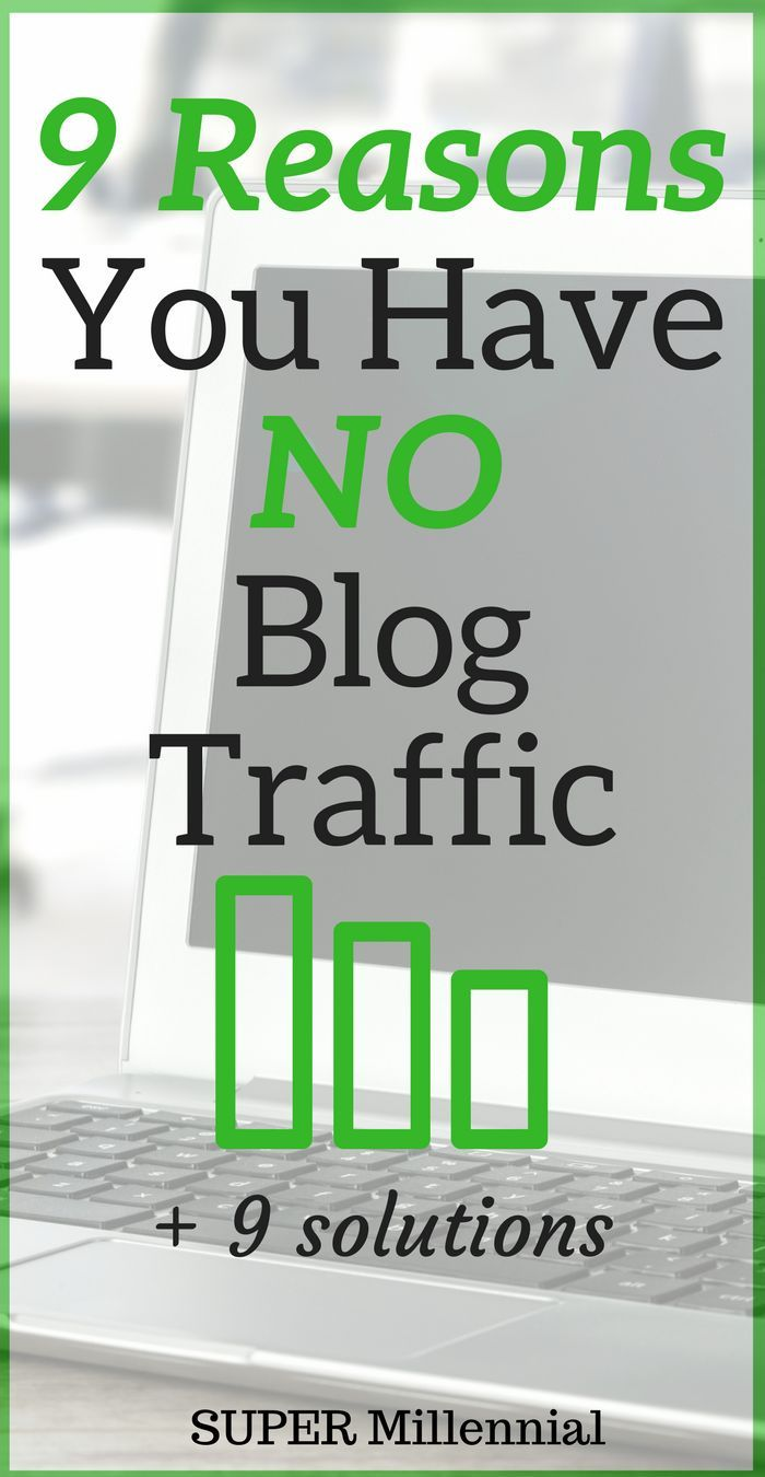 9 Reasons No One is Reading Your Blog! Do you want more blog traffic but don't know how? Learn the big mistakes I made and how I was able to grow my blog traffic!