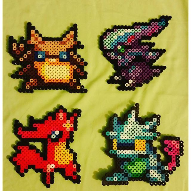 Golden Sun: Dark Dawn perler beads by nitrosplicer