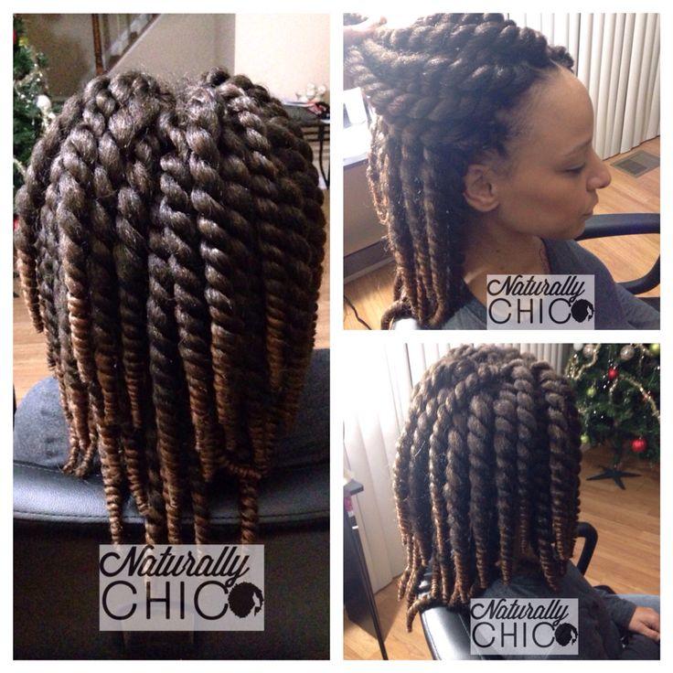 Crochet Havana Twists Hair used Jamaica Kingston ... Jamaican Rope Twist Braids