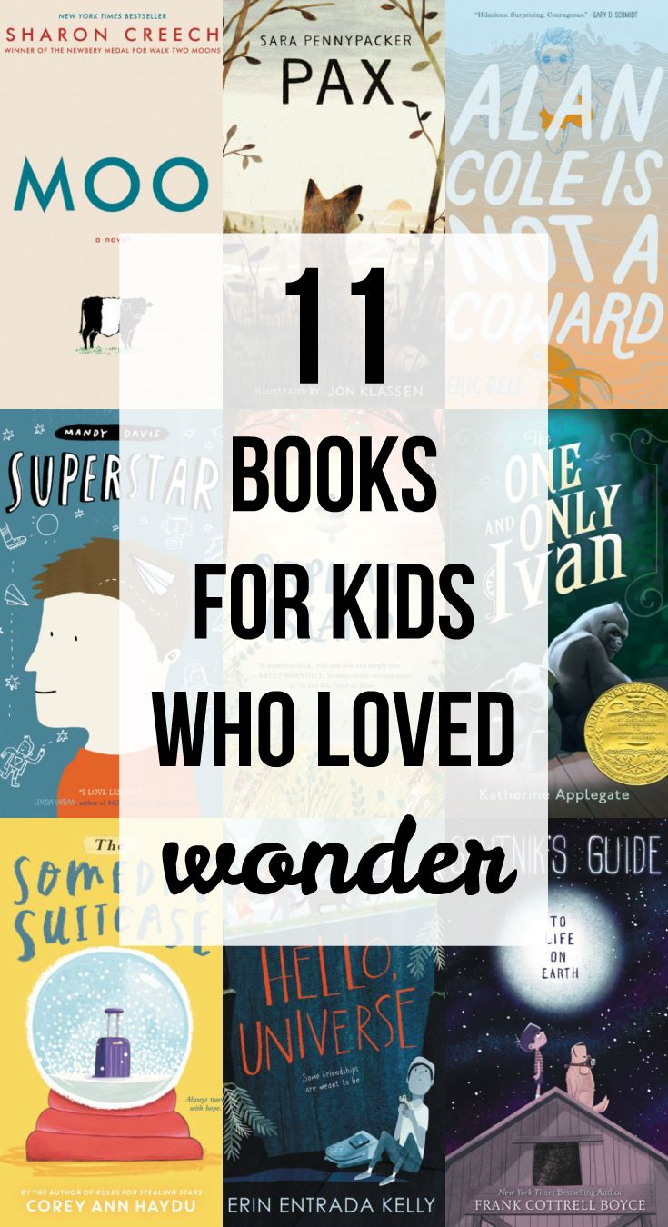 11 Children's Books for Kids Who Loved Wonder by R. J. Palacio! Find new books to read after seeing the new Wonder movie!