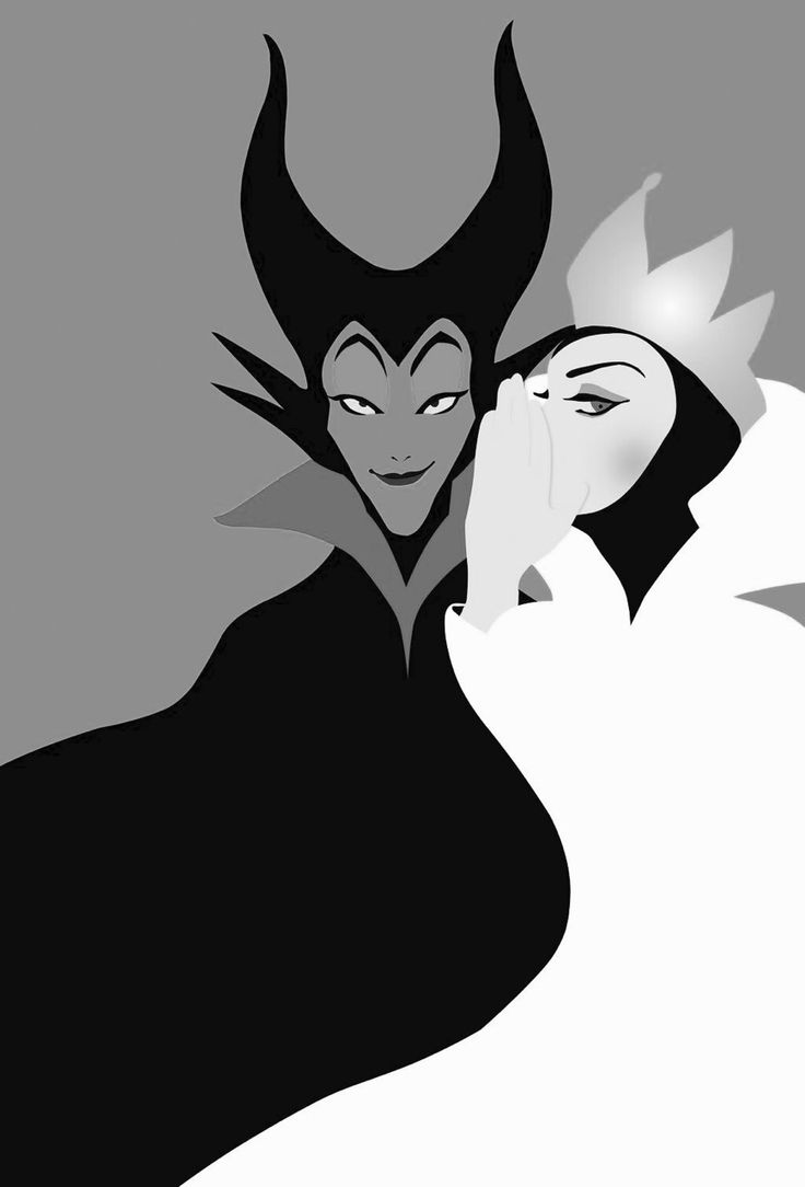 Best Friends- Evil Queen and Maleficent