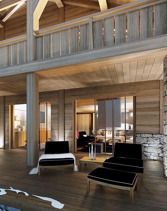 ChaletAuron - Studio Guilhem - Architecture d'intérieur et Design Astonishing Room by Guilhem Studio #frenchinteriordesign #architecturedinterieur