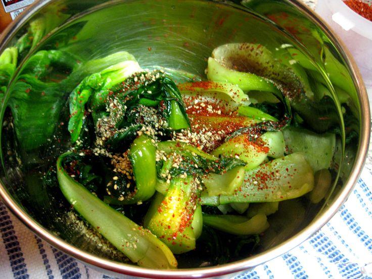 Pak Choy Kimchi