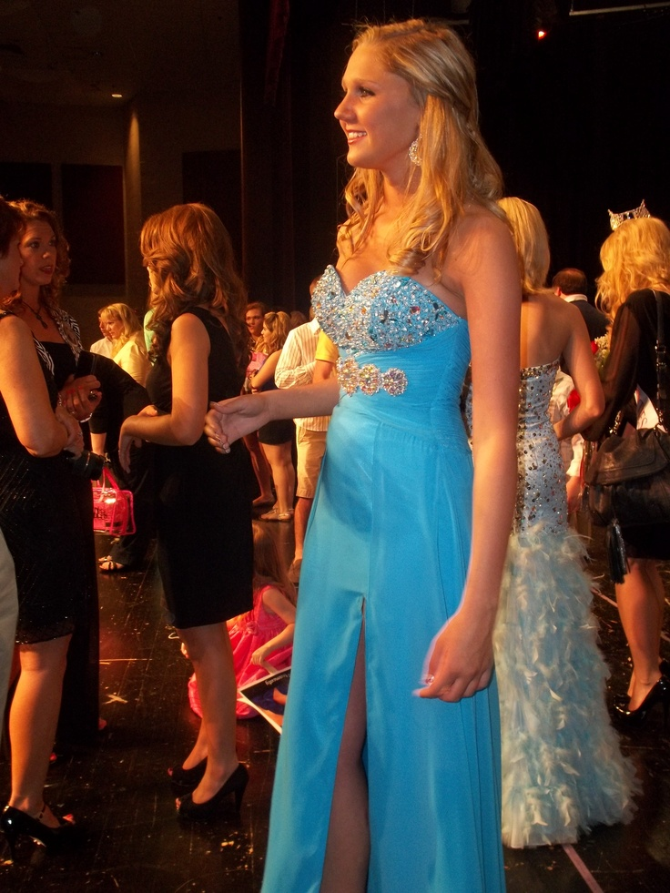 """THE DRESS"" for the Miss TN Teen Pageant!    Gown from Bella Boutique, Knoxville, TN"