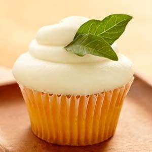 Cupcakes de Mojito - Recetas de cupcakes fáciles Para hacer con @Nadia Gradecky Santa Cruz cuando nos veamos :D
