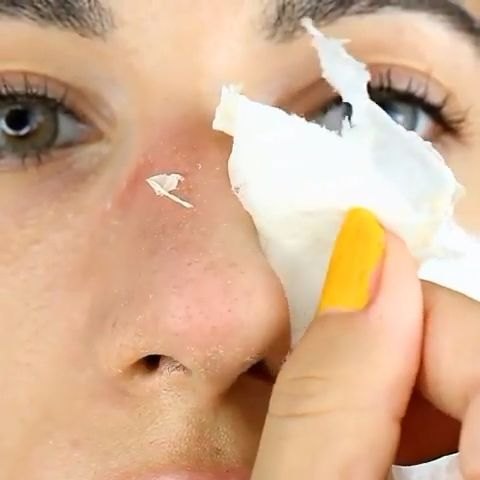 Get Rid of Blackheads with Eggs😍😍😱❤️❤️❤️.