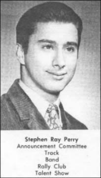 Steve Perry in High School Yearbook