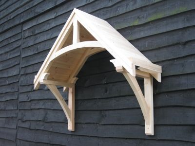 Timber door canopies- traditional cottage canopies - front door canopies